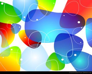 Fundo abstrato colorido brilhante Vector