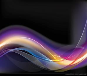Ilustrações abstratas de vetor abstrato brilhante