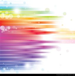 Vetor de fundo abstrato do arco-íris