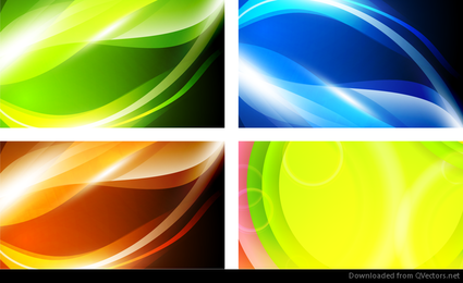 Abstract Vector Background Graphic Set
