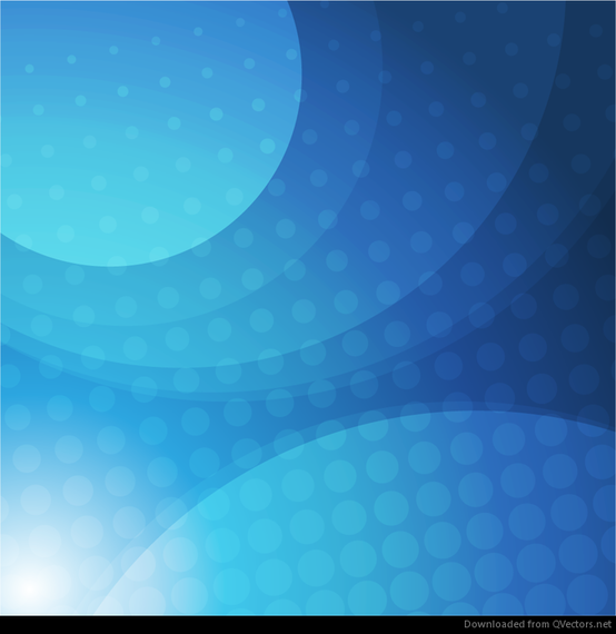 Abstract Blue Circle Design Vector Download