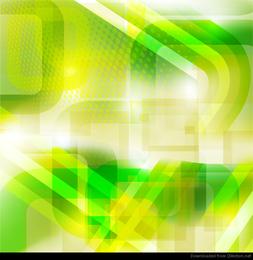 Fundo abstrato verde Design Vector
