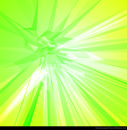 Abstract Background with Green Yellow Color Vector