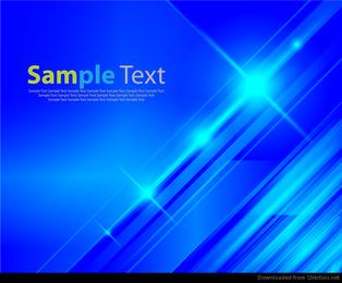 Gráfico de vetor abstrato azul