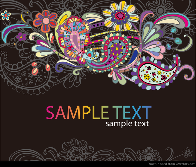 Abstract Colorful Vector Graphic