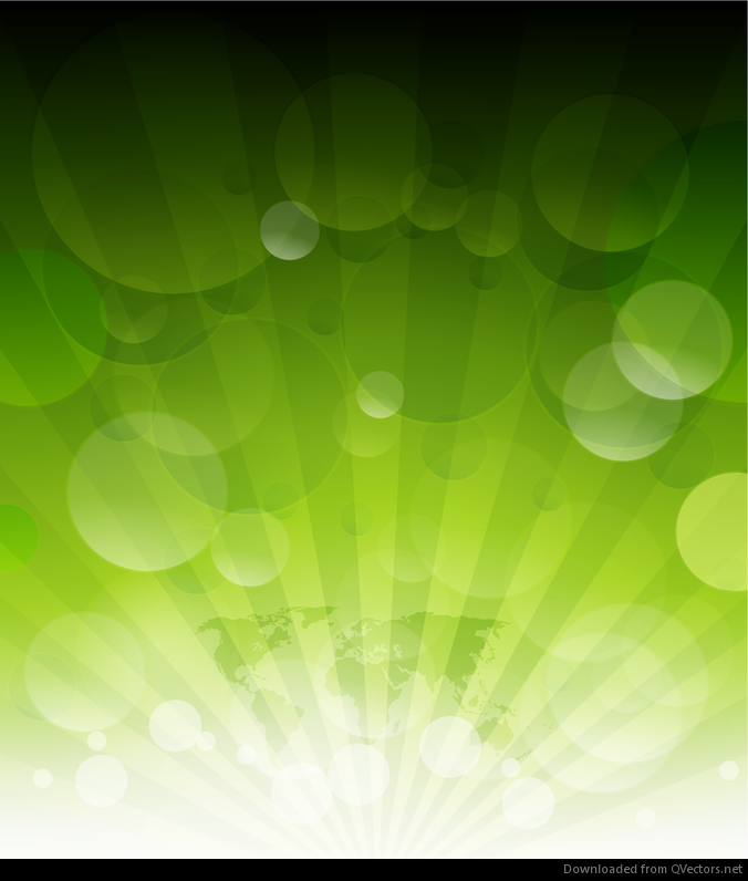 green rays background - photo #35