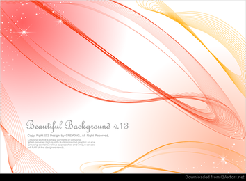 3 lines abstract background vector