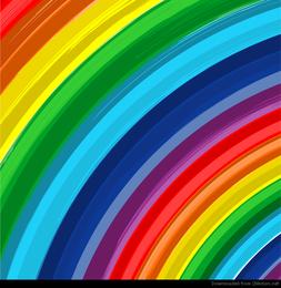 Fundo de vetor abstrato do arco-íris