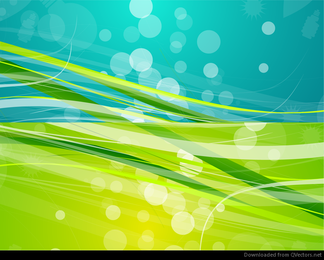 Abstract Nature Background Vector Graphic