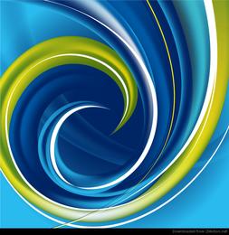 Hightech- Strudel-Zusammenfassungs-Hintergrund-Vektor-Grafik