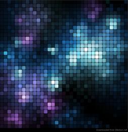 Fundo de mosaico gráfico de vetor abstrato