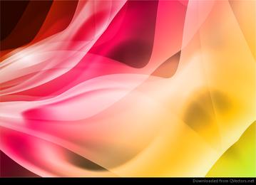 Vector de fondo suave colorido abstracto