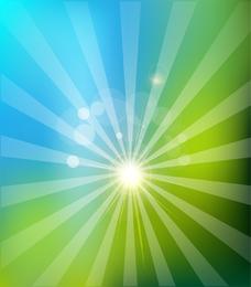 Solar Nature Background