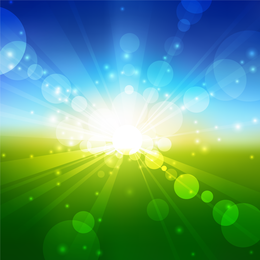Bright field abstract design