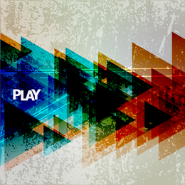 Colorful play illustration
