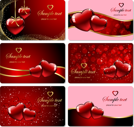 Bright Heartshaped Background