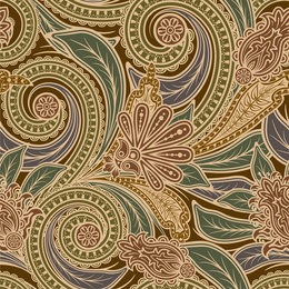 European arabesque background