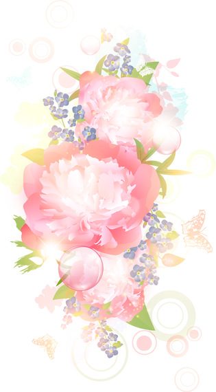 Illustrated pastel flowers vector download illustrated pastel flowers mightylinksfo
