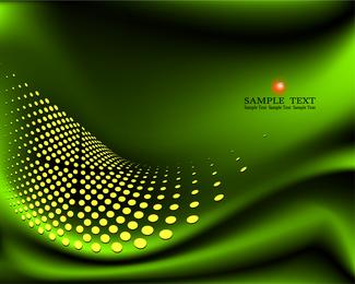 3 Green Background