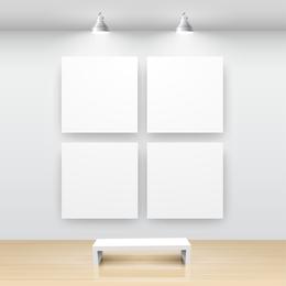 4 frames lighting set
