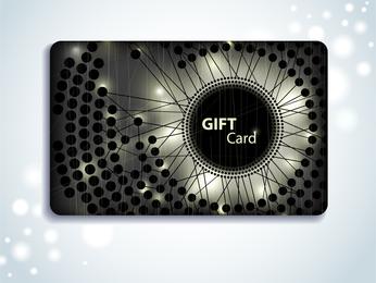 Fondo de la tarjeta vip