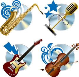 Instrument Background Vector
