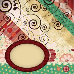 Patchwork Pattern Background