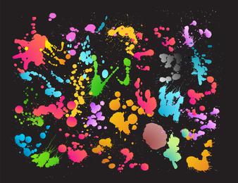 Colourful Slat Background