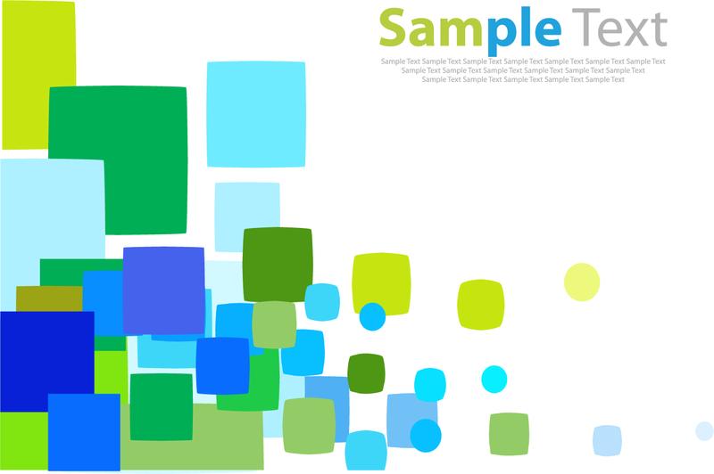 Zufälliges farbiges Quadrat