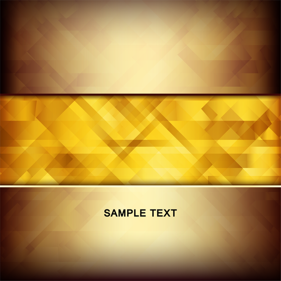 Golden Vector Background