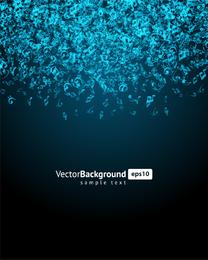 Blue music keys background