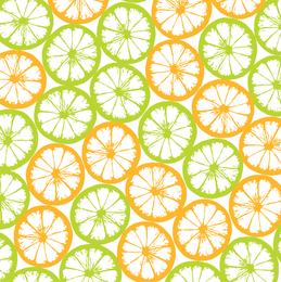 Bloque de naranja con azulejos