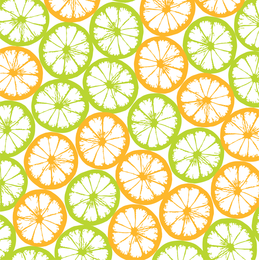 Orange Block Tiled