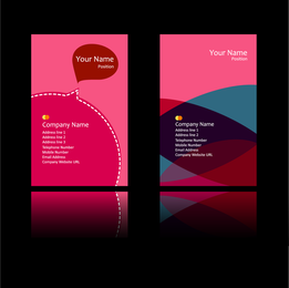 Peach Pink Card