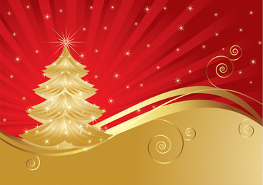Christmas Background Vector 3
