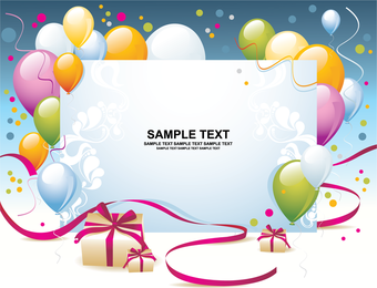 Birthday card or banner