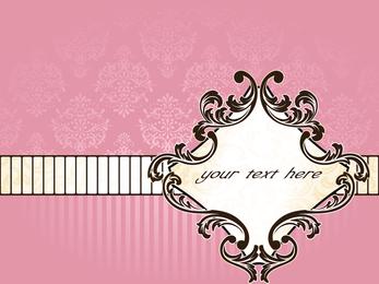Pink Background Pattern