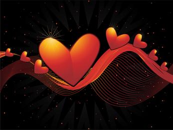Vector em forma de coração -2