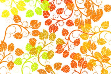 Leaf Background Colorful