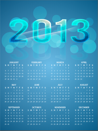 Kalender 2013 hell
