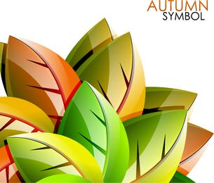 Exquisite Leaf Background 4
