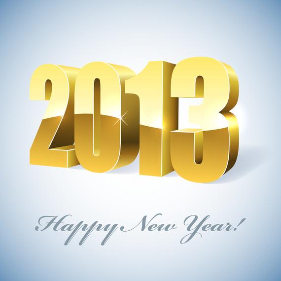 Goldener Entwurf 2013 über Grau