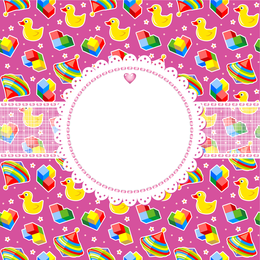 Cute Cartoon Background 4
