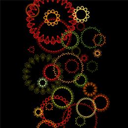 Patrón de fondo colorido 3