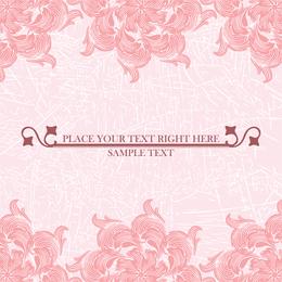 Pink Pattern Background 2