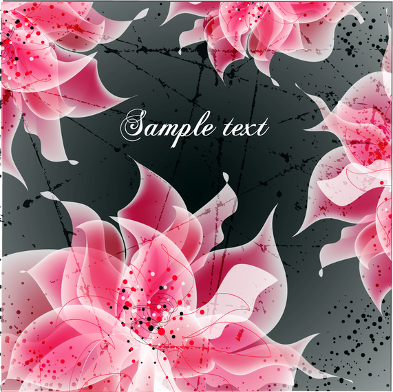 Vector Background Floral