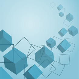 Cubes Background Vector