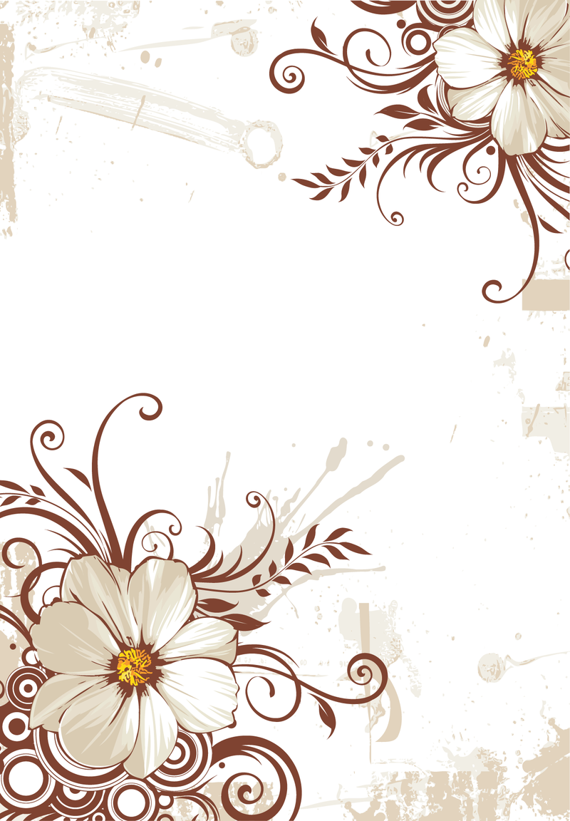 Flower Background - Vector download for Vector Flower Background Png  75sfw