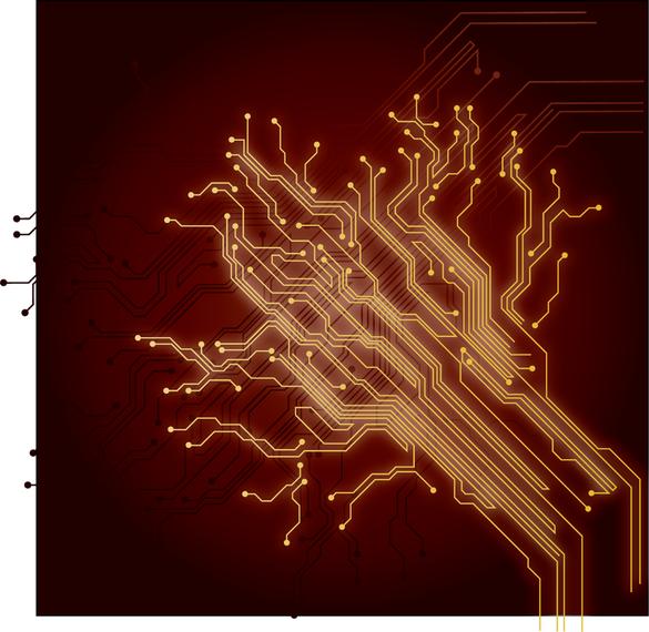Chip Wires Background