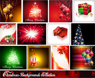 Starstudded Christmas Background